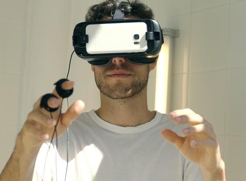 Fotografía de realidad virtual aplicado a la Psicología de la empresa PSIOUS.