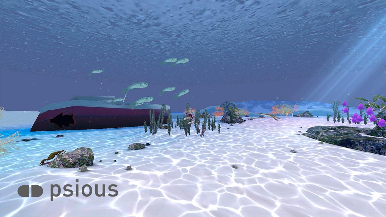 Psious - Relajación Bajo el Mar con Realidad Virtual