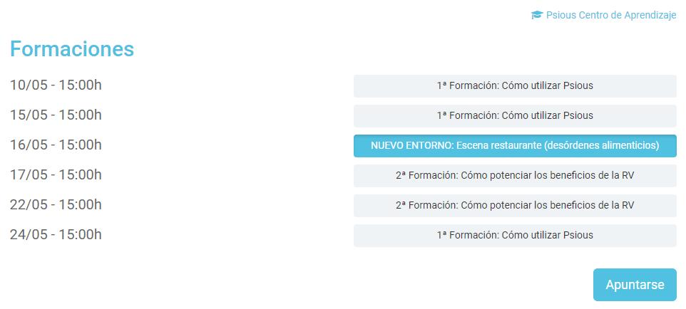 Webinar Restaurante español Realidad Virtual