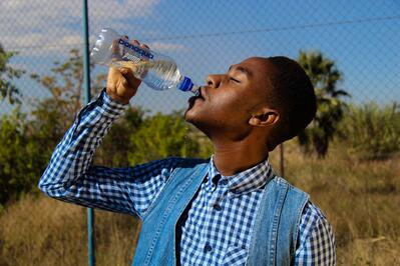 Ola de Calor Verano Tomar Agua