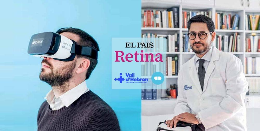 Articulo El País Retina colaboración Vall d'Hebron Psious