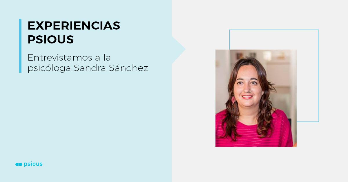 entrevista Sandra Sánchez